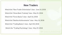 New Trades Class's on the Callendar.JPG
